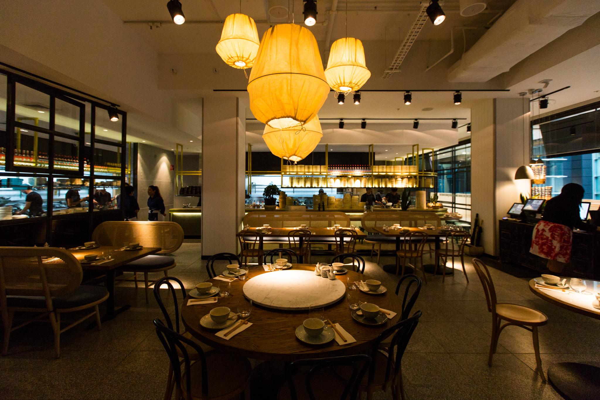 Lotus Restaurant The Galeries Sydney Unbearable