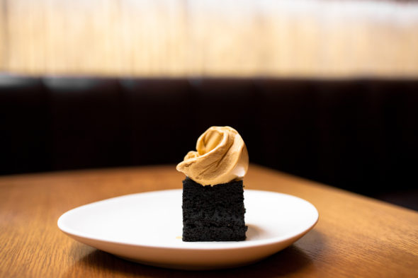 salted-liquorice-cake-and-molasses-ice-cream-pei-modern-sydney